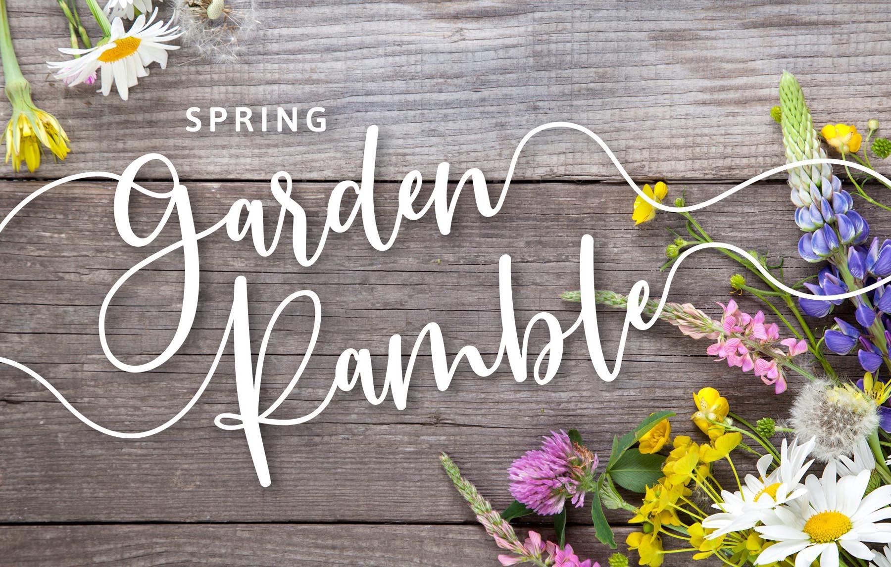 Spring Garden Ramble